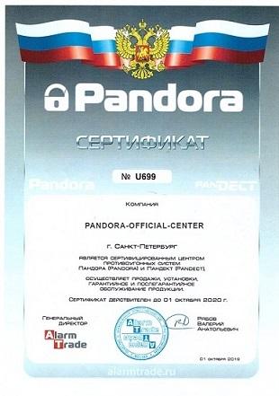 Официальный сайт Пандора